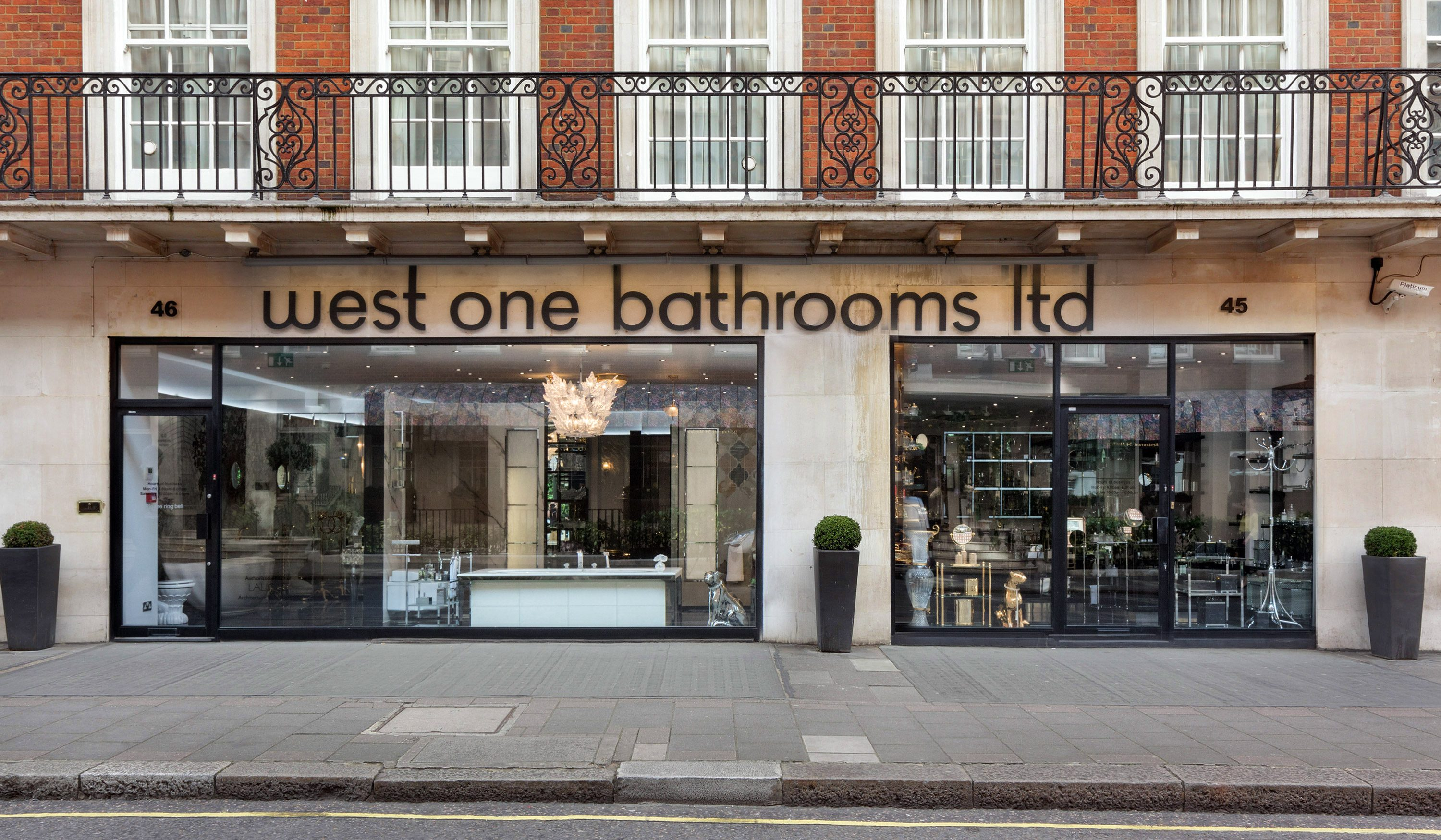 west one bathrooms mayfair showroom south audley street hero 3