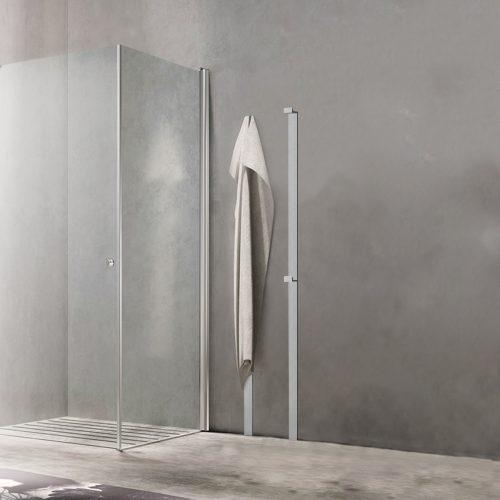 Minimal Towel Warmer via West one Bathrooms