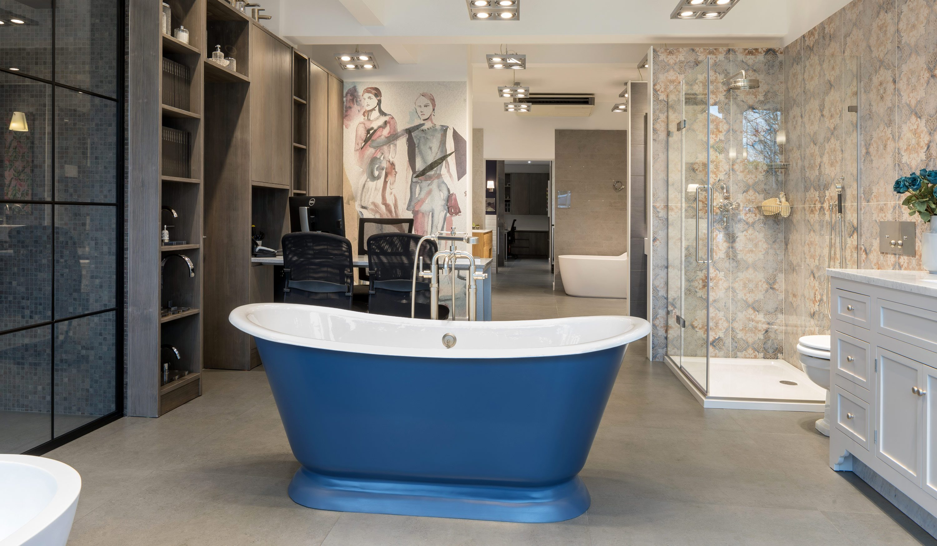 West One Bathrooms Oxshott Showroom Surrey 4