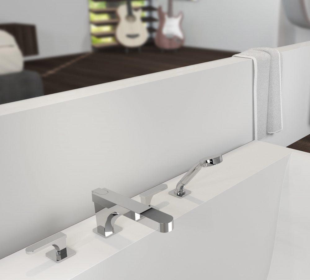 West One Bathrooms PROFIL Bath mixer A6B 112BSG
