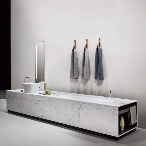 West One Bathrooms Sistema Bathtub washbasin marble system pag 040