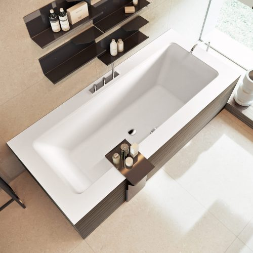 West One Bathrooms Style by Makro Inset baths