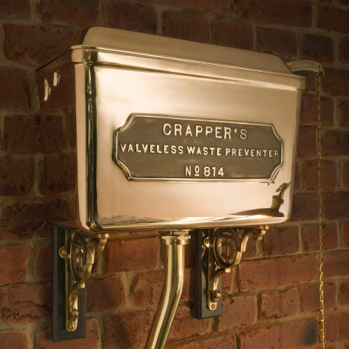 West One Bathrooms Thomas Crapper high level cistern detail