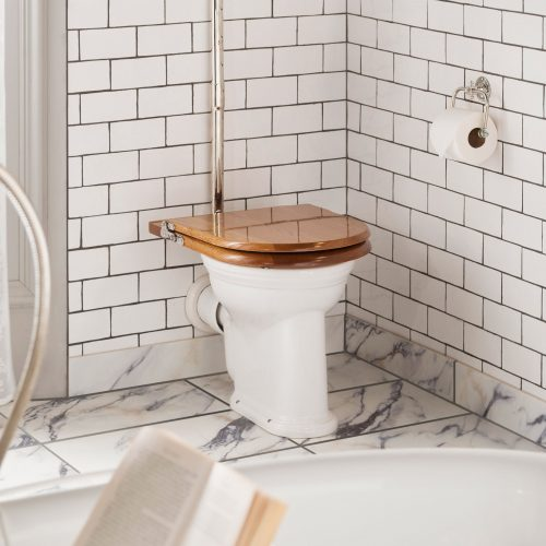 West One Bathrooms Thomas Crapper high level WC Pan and Ceramic Cistern 02