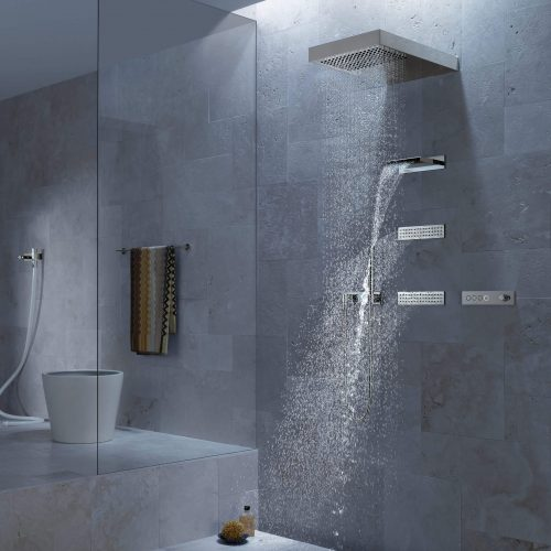 West One Bathrooms Vertical shower ATT CloseUp4 V2