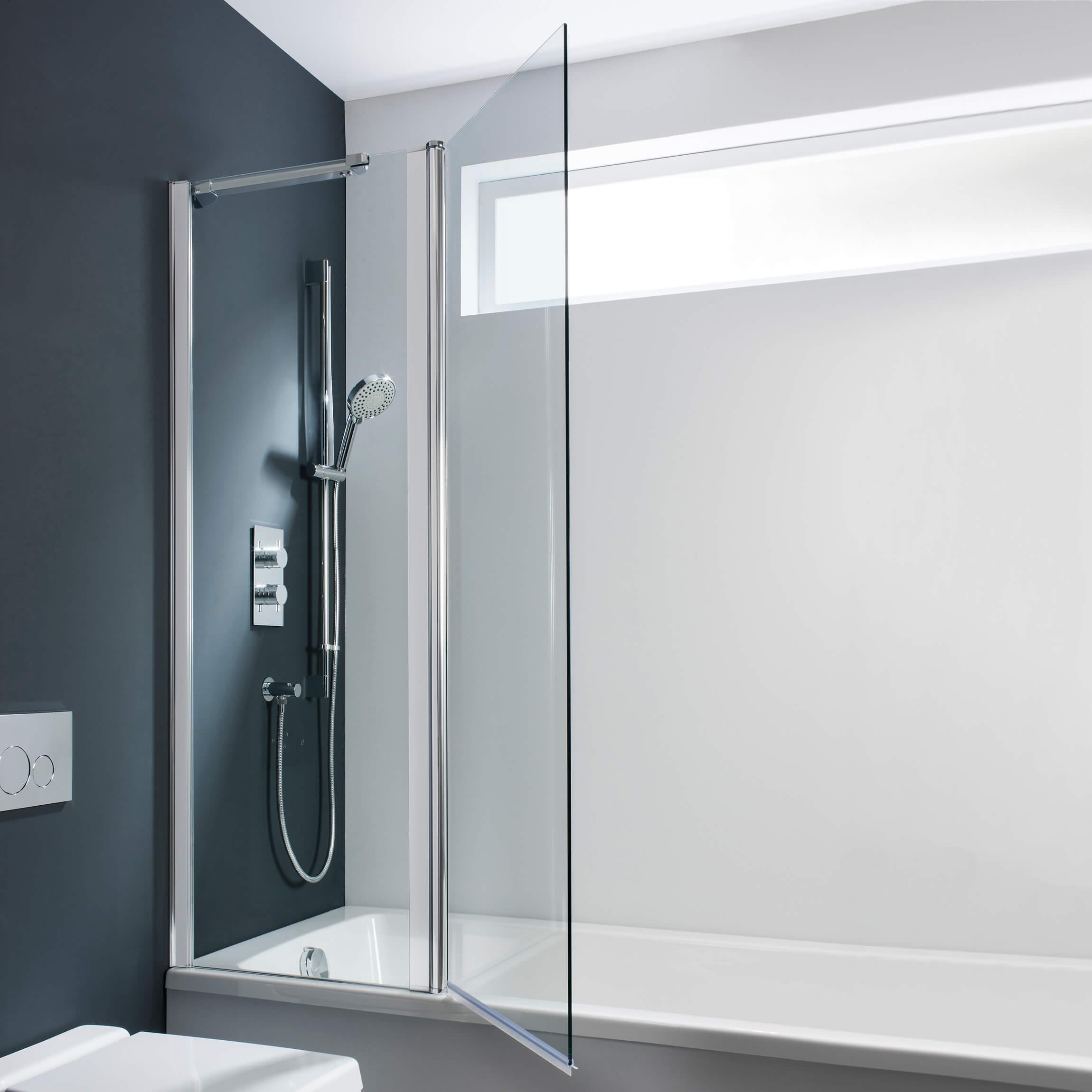Design Double Folding Bath Screen Bath Screens