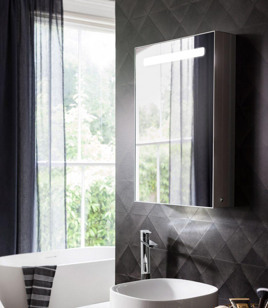 West One Bathrooms Allure Mirror Cabinet 01
