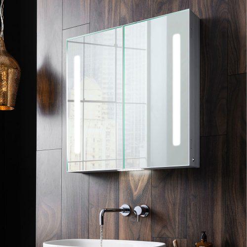 West One Bathrooms Allure Mirror Cabinet 4