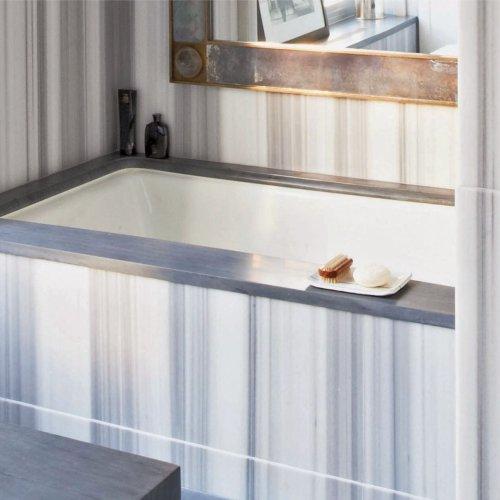 Asher Grey by Ann Sacks via West One Bathrooms
