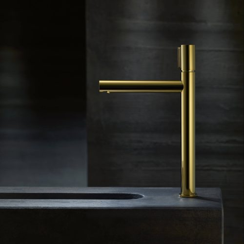 West One Bathrooms AXOR Uno Select Gold Highriser