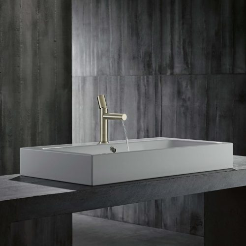 West One Bathrooms AXOR Uno Zero Handle Nickel