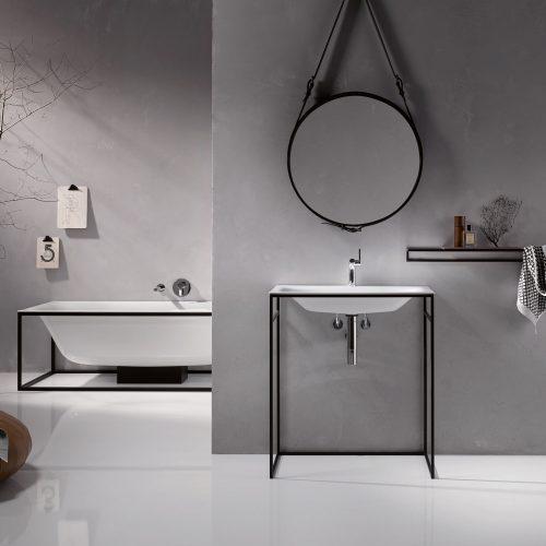 West One Bathrooms BetteLux Shape 05 white Basin