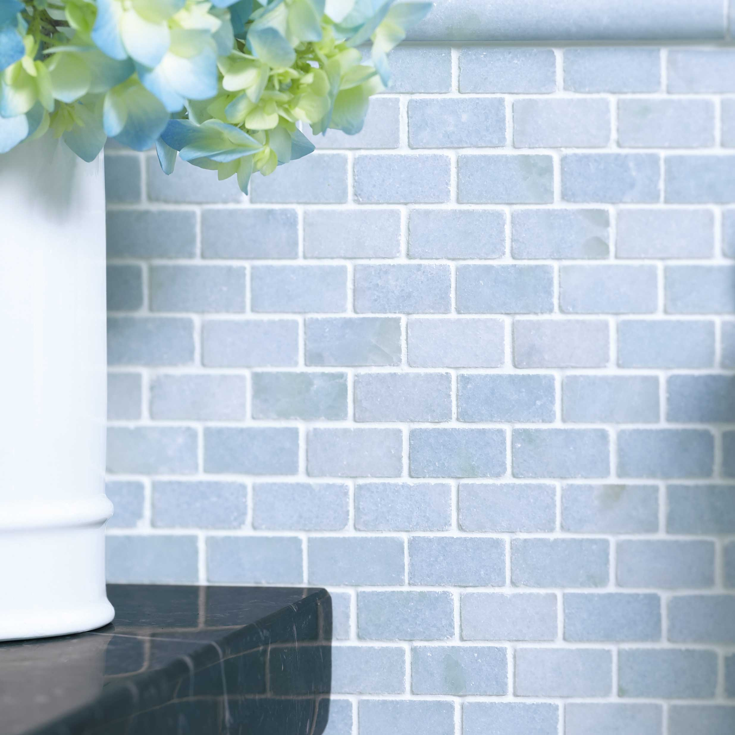 Ann Sacks Blue Celeste Mosaics Tiles