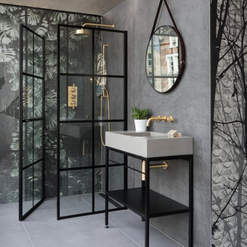 Industrial Frame via West One Bathrooms