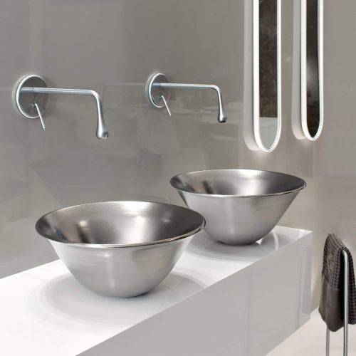 West One Bathrooms Goccia Basin 01