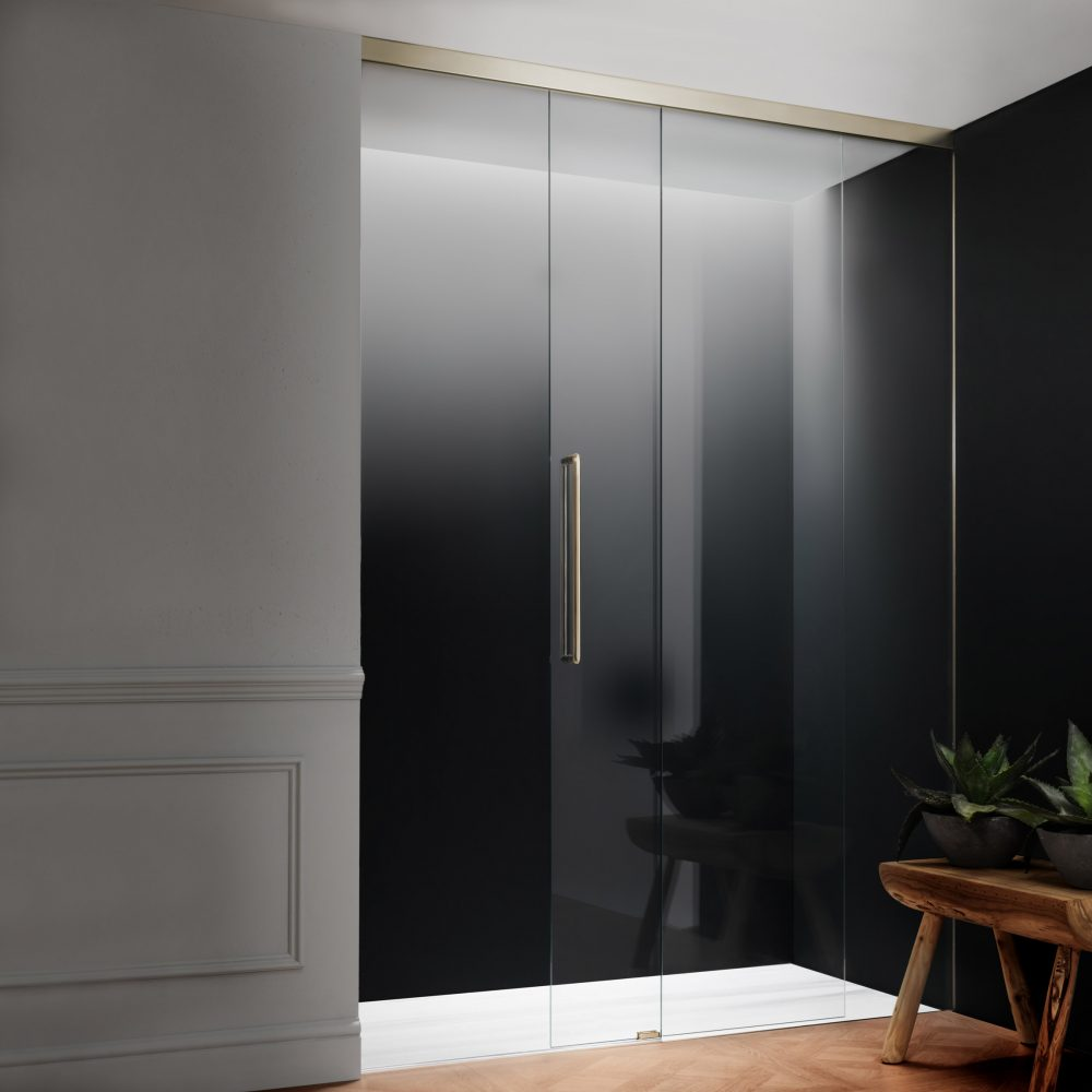 Frameless Harmony via West One Bathrooms