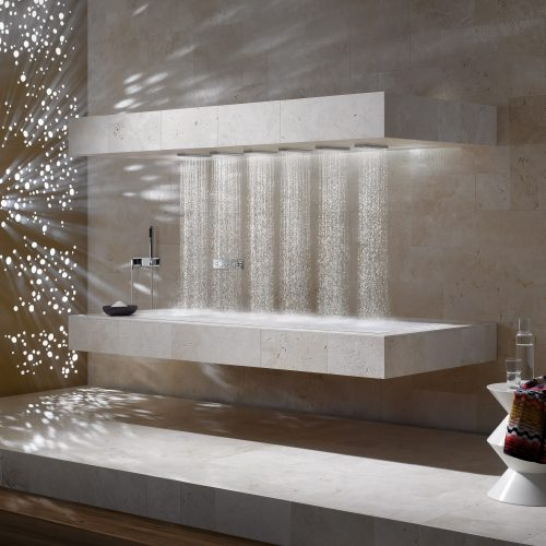Horizontal Shower by West One Bathrooms