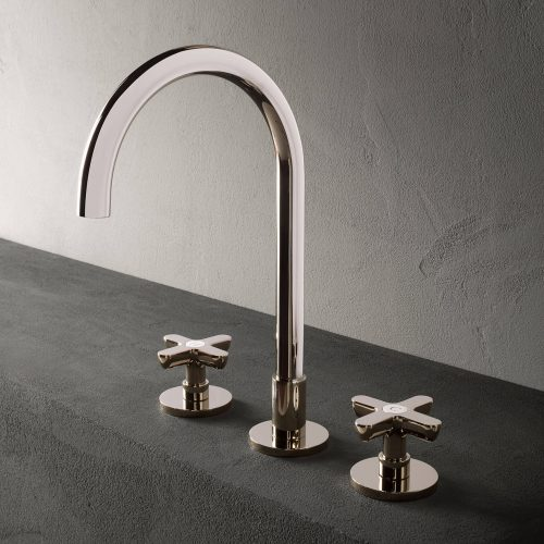West One Bathrooms ICONA Classic  Nickel PVD BASIN