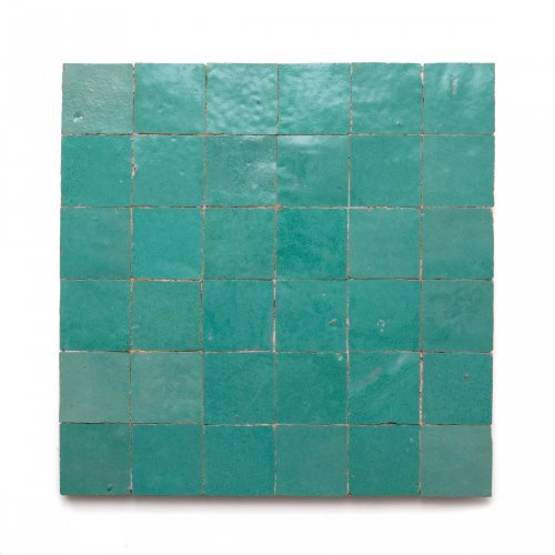 West One Bathrooms Idris 2x2mosaic aquagreen aquagreen