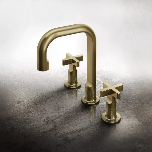 West One Bathrooms Inciso Brass Brushed