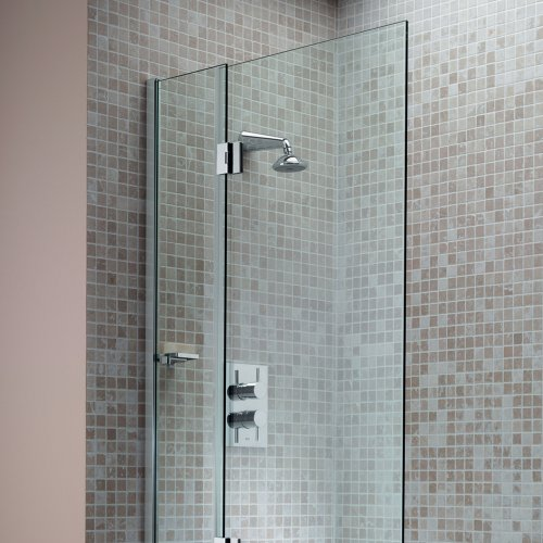 West One Bathrooms Matki Eleganza Hinged Bath Screen LCB – Overview