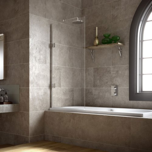 West One Bathrooms Matki Eleganza Single Bath Screen STB – Main