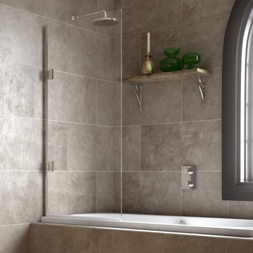 West One Bathrooms Matki Eleganza Single Bath Screen STB – Overview