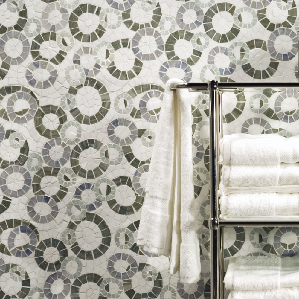 Ann Sacks Mosaic Bathroom Tile: Ann Sacks Davlin