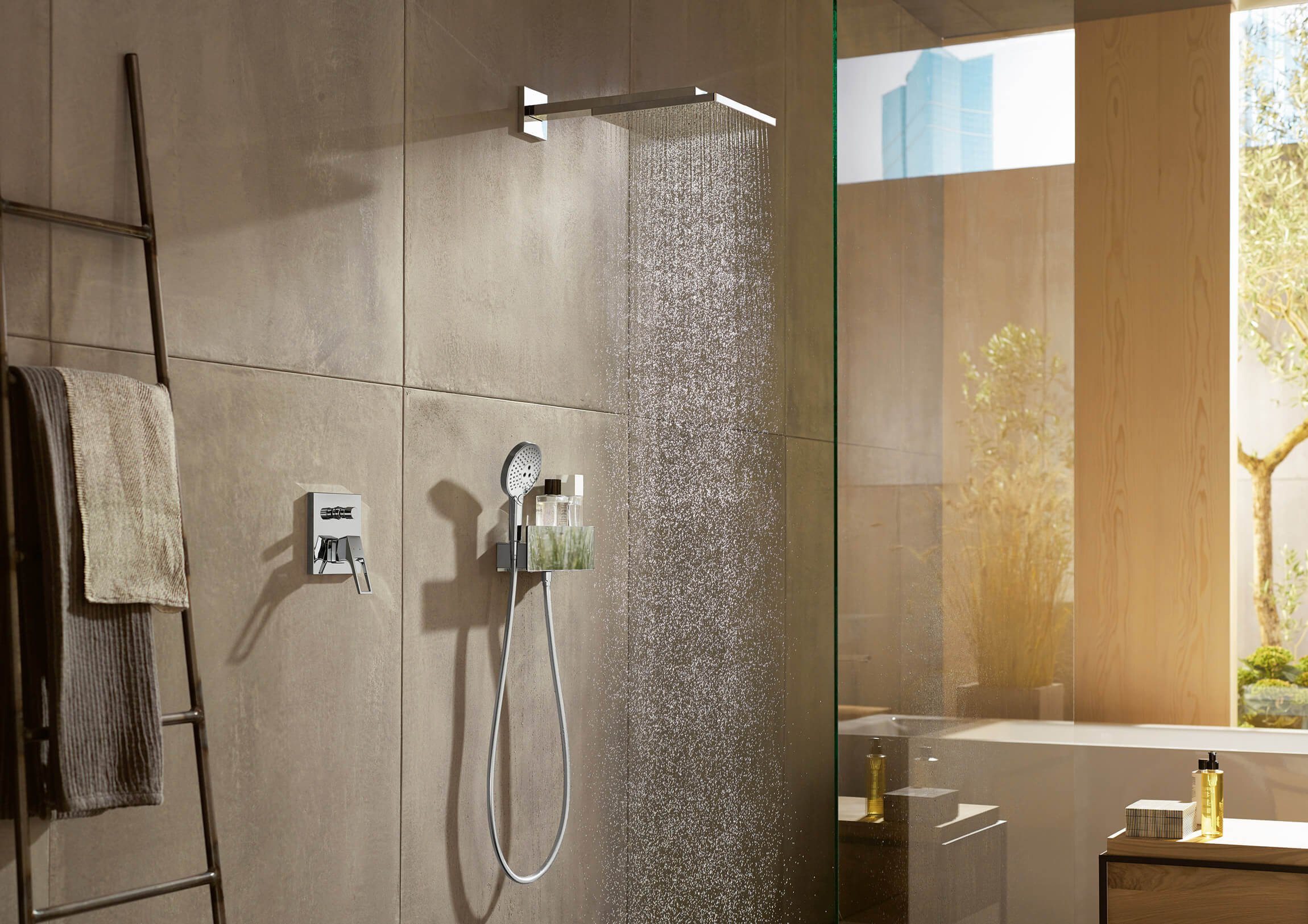 Raindance Rainfall Overhead Shower Shower West One Bathrooms