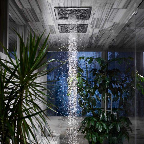 Real rain via West One Bathrooms