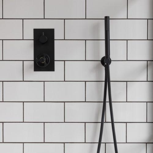 West One Bathrooms Soho Shower Set Lifestyle