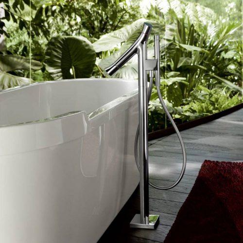 West One Bathrooms Starck Organic Brassware Baths 01
