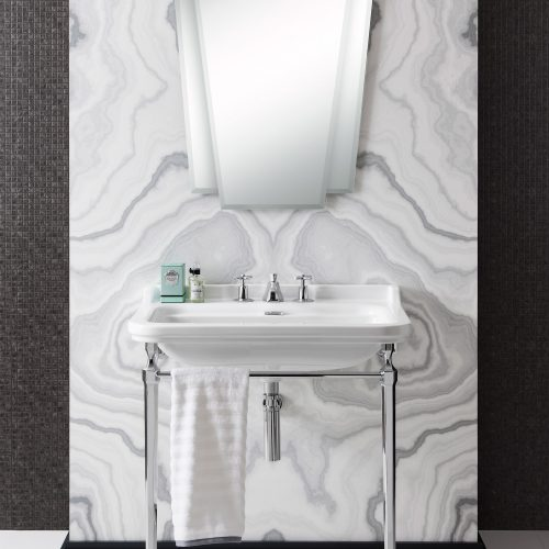 West One Bathrooms – Waldorf Console basin 800
