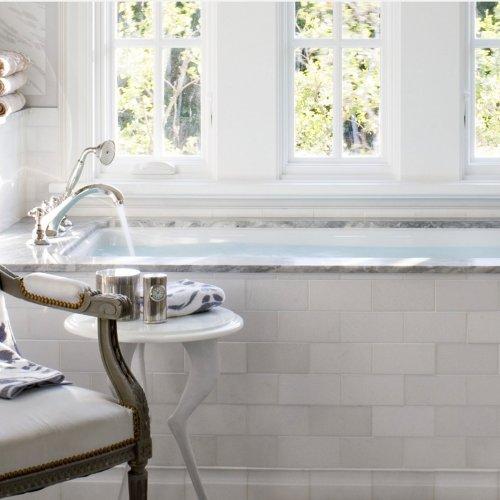 White Thassos by Ann Sacks, via West One Bathrooms