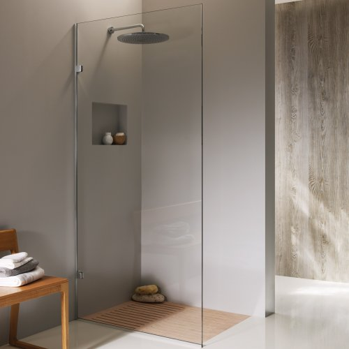 Frameless Monaco - Fixed Shower Panel