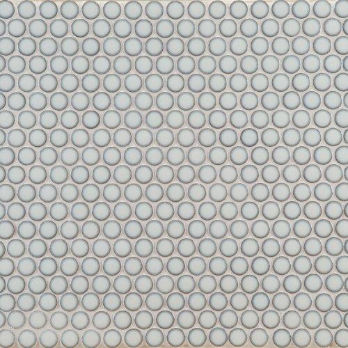 West One Bathrooms Ann Sacks Savoy Ceramic Pennyround Mosaic – Cottonwood