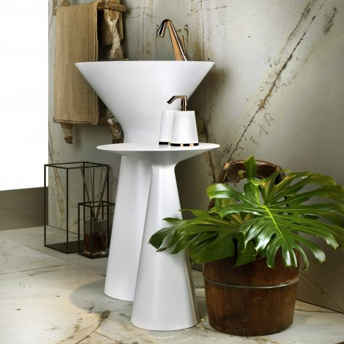 West One Bathrooms Cono Freestanding basin2