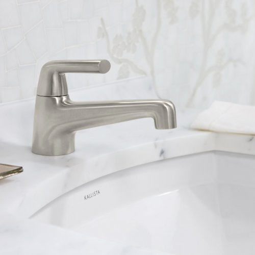 West One Bathrooms Counterpoint monomixer basin lifestyle  2