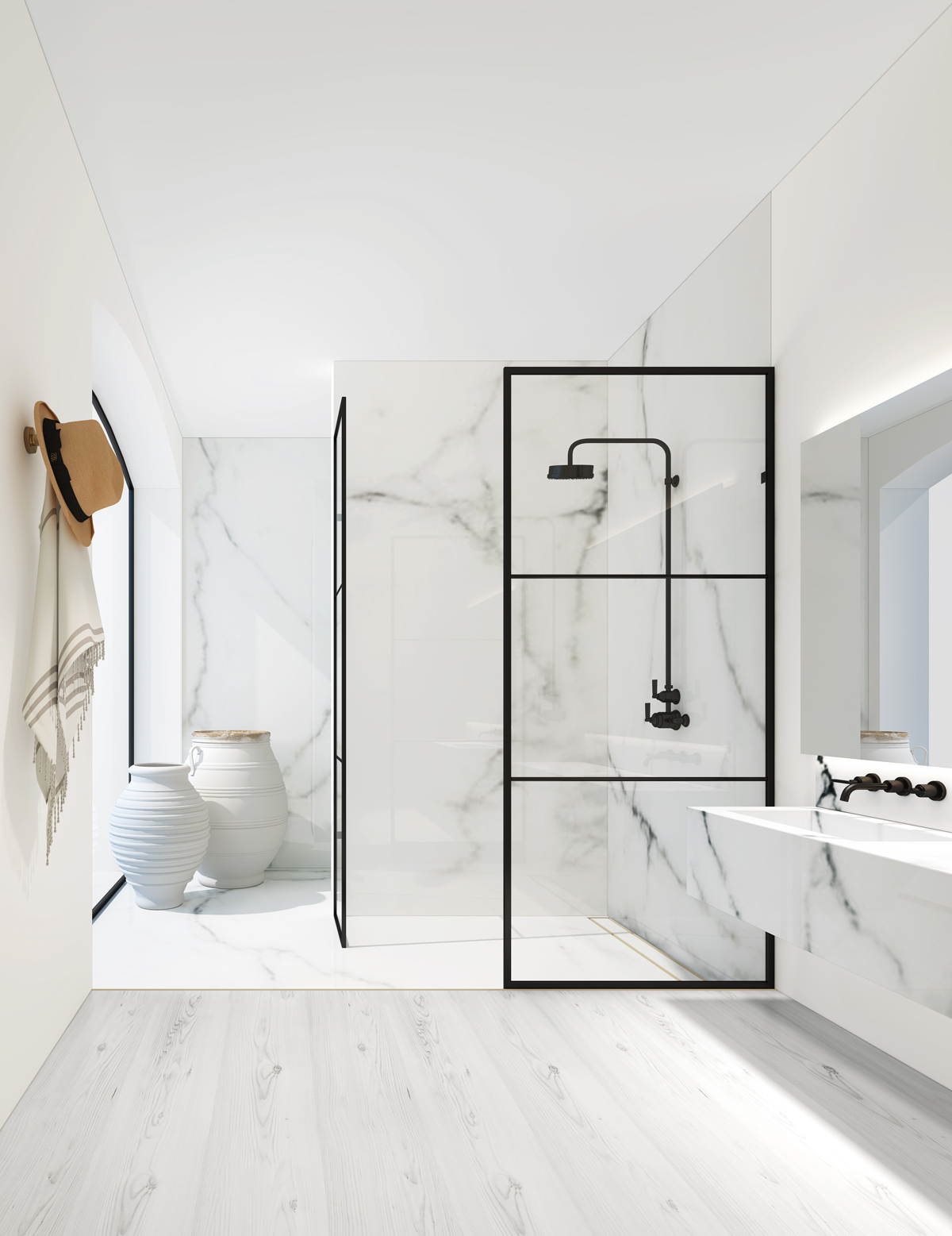 West One Bathrooms Crittall style showers living etc