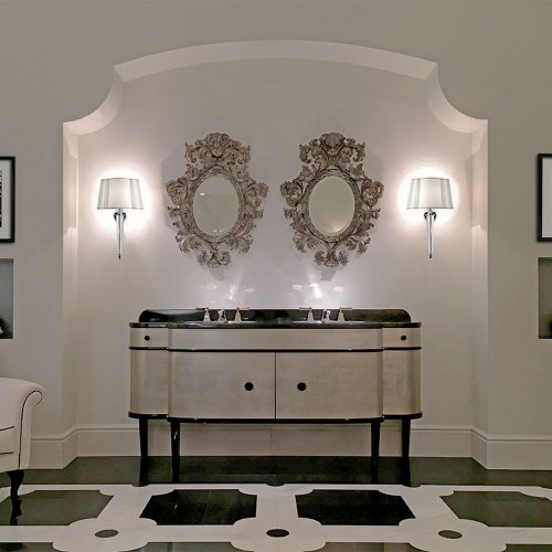 West One Bathrooms DD Double Music Vanity Unit
