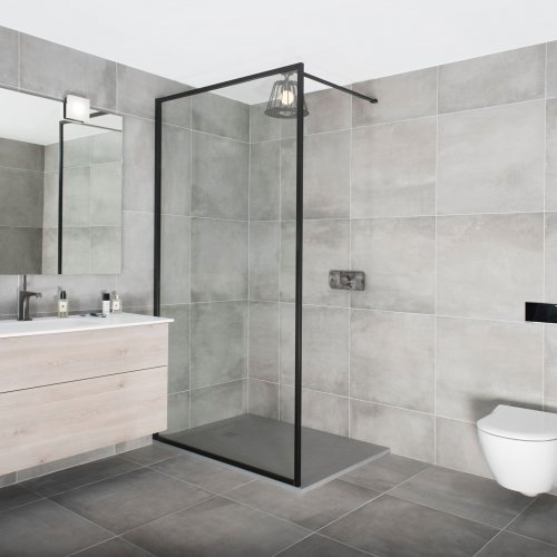 West One Bathrooms Industrial Border Collection