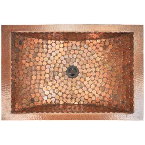 West One Bathrooms Rectangular crescent mosaic 03