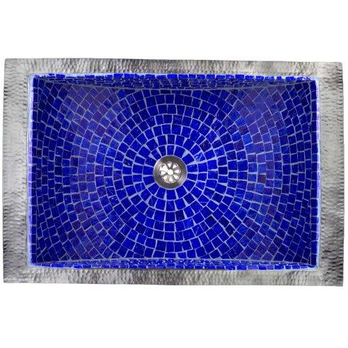 West One Bathrooms Rectangular crescent mosaic 06