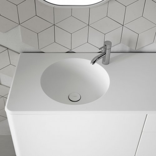 West One Bathrooms Fluent Circle Basin