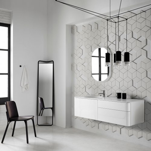 West One Bathrooms Fluent Vanity Unit