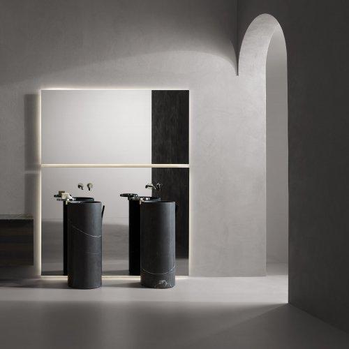 West One Bathrooms   Giro  Nero Marquina