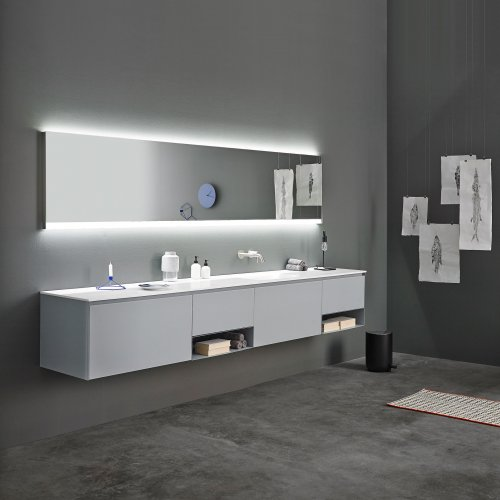 West One Bathrooms Strato Unit grey
