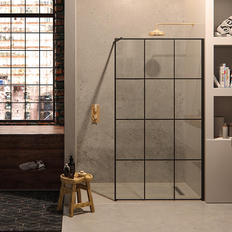 Matki One Wet Room Panel With Framed Effect Wet Room Panels