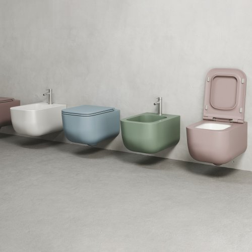 West One Bathrooms Primo Lux WC and Bidet Brevetto A4