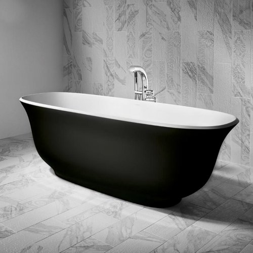 West One Bathrooms Amiata bath black ext